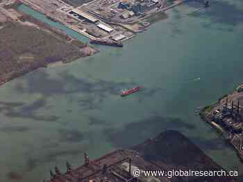 Uranium Contaminated Site Collapsed into the Detroit River During the Thanksgiving Holiday