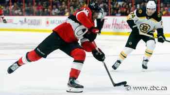 Duclair scores twice as Senators stun 1st-place Bruins