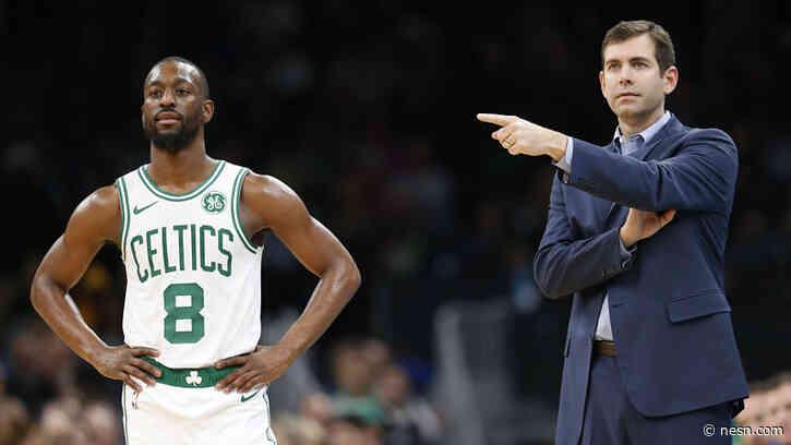 Why Brad Stevens Wants Celtics To Model Themselves After Kemba Welker