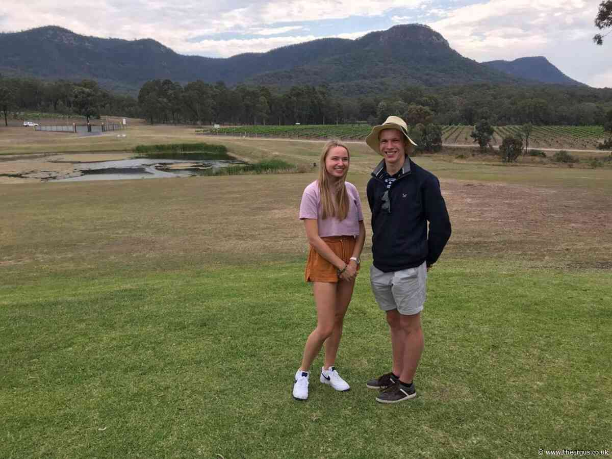 Katie Banks and Joe Clayson trapped in New Zealand landslide 'frenzy'