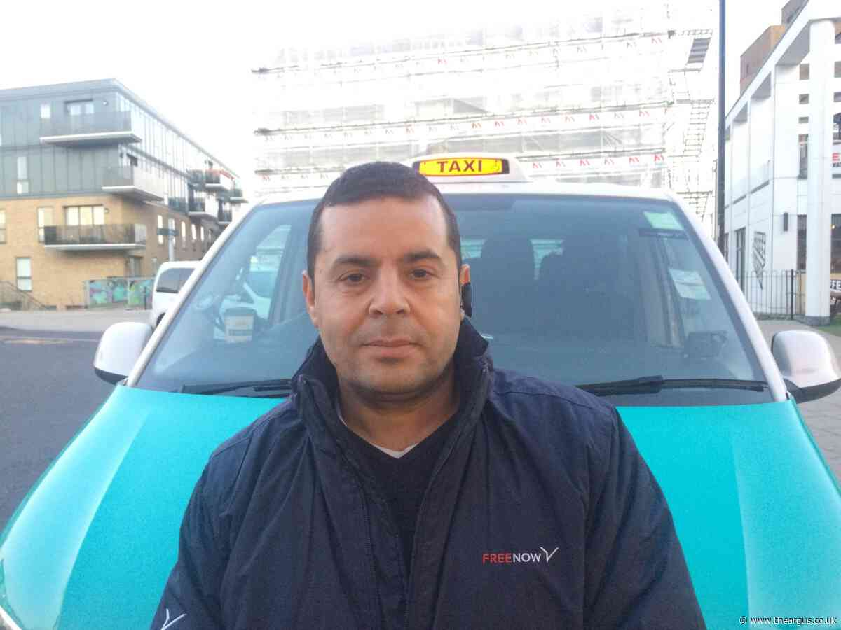 Fuming taxi drivers slam 'nightmare' changes at Brighton station