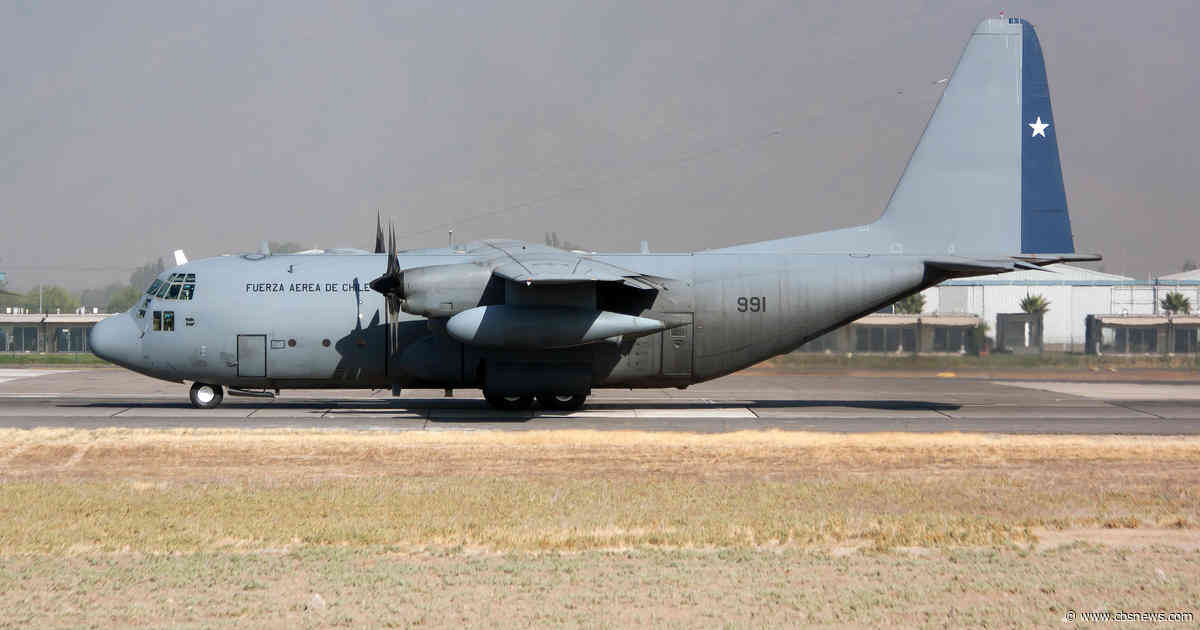 Chilean Air Force plane believed to have crashed with dozens on board