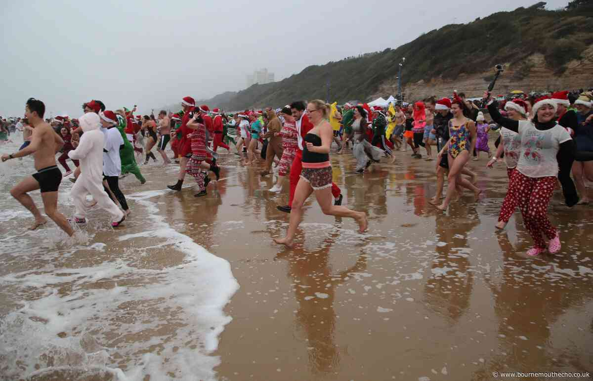 Hundreds to plunge into the sea this Christmas Day for cancer charity