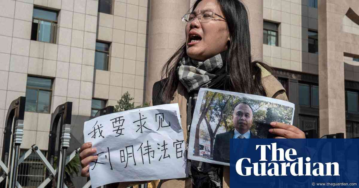 Protests over arbitrary detentions as China hosts global lawyers forum