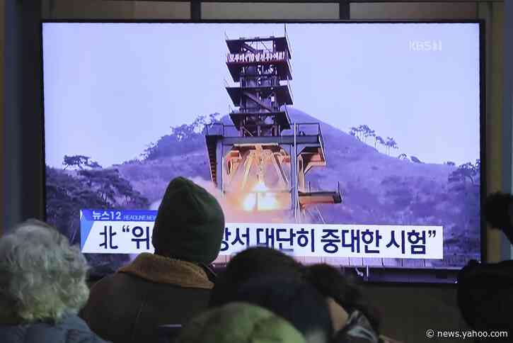 South Korea says North's recent test was of rocket engine