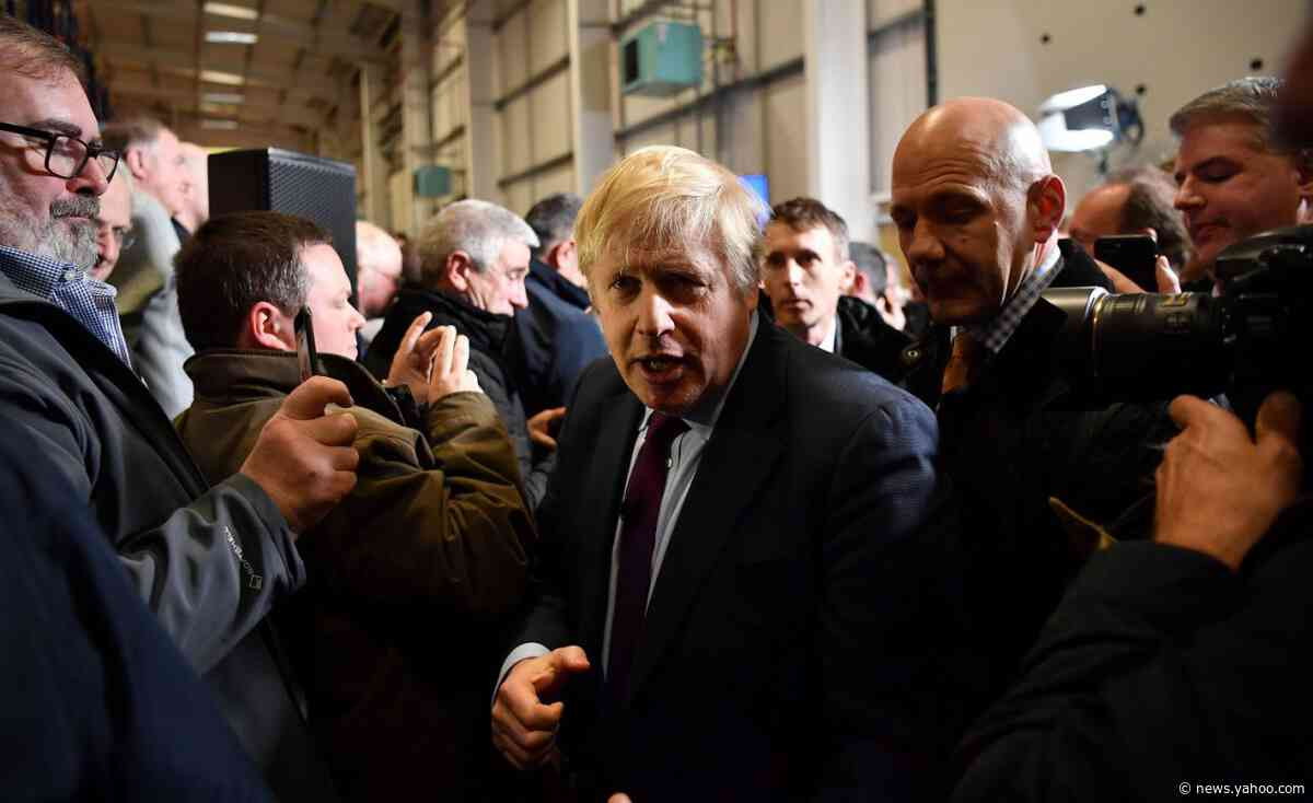 Supportive Papers Ignore Johnson's Bad Day: U.K. Campaign Trail