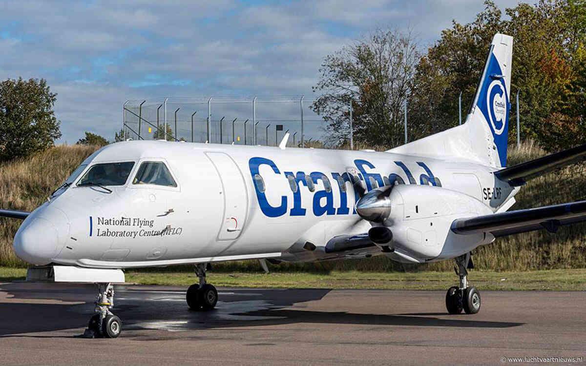 Saab 340B wordt vliegend klaslokaal voor Cranfield University