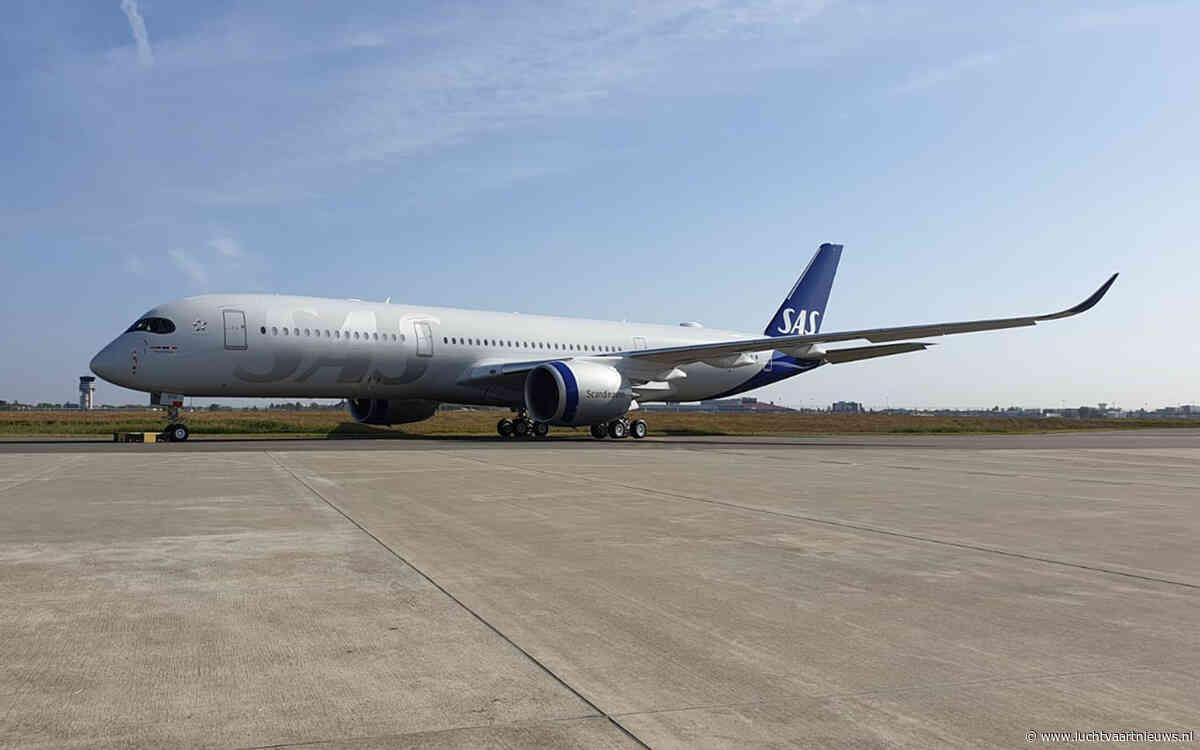 Scandinavisch SAS verwelkomt eerste Airbus A350-900