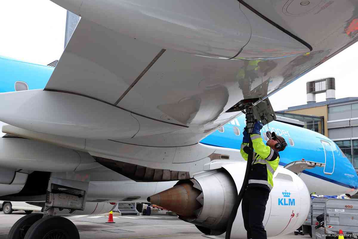KLM vliegt ook vanaf Schiphol deels op biobrandstof