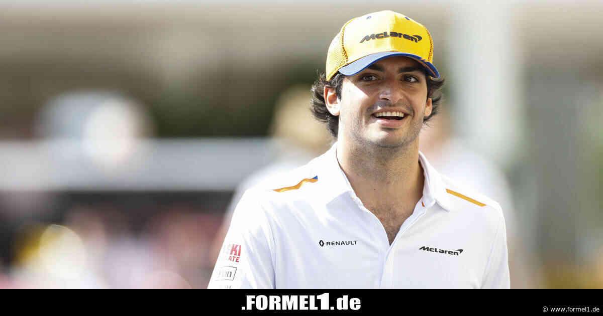 Carlos Sainz: Dank Wohlfühl-Atmosphäre zu bester Formel-1-Saison