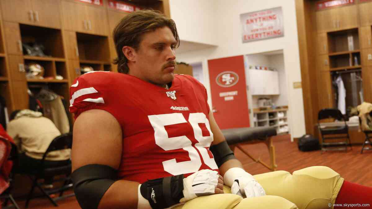 49ers starting center Richburg out for 2019