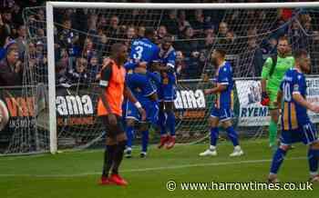 Wealdstone held to goalless draw at Bath City