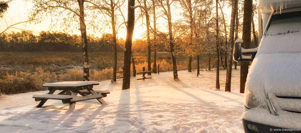 Meer Nederlanders met de camper op vakantie in de winter