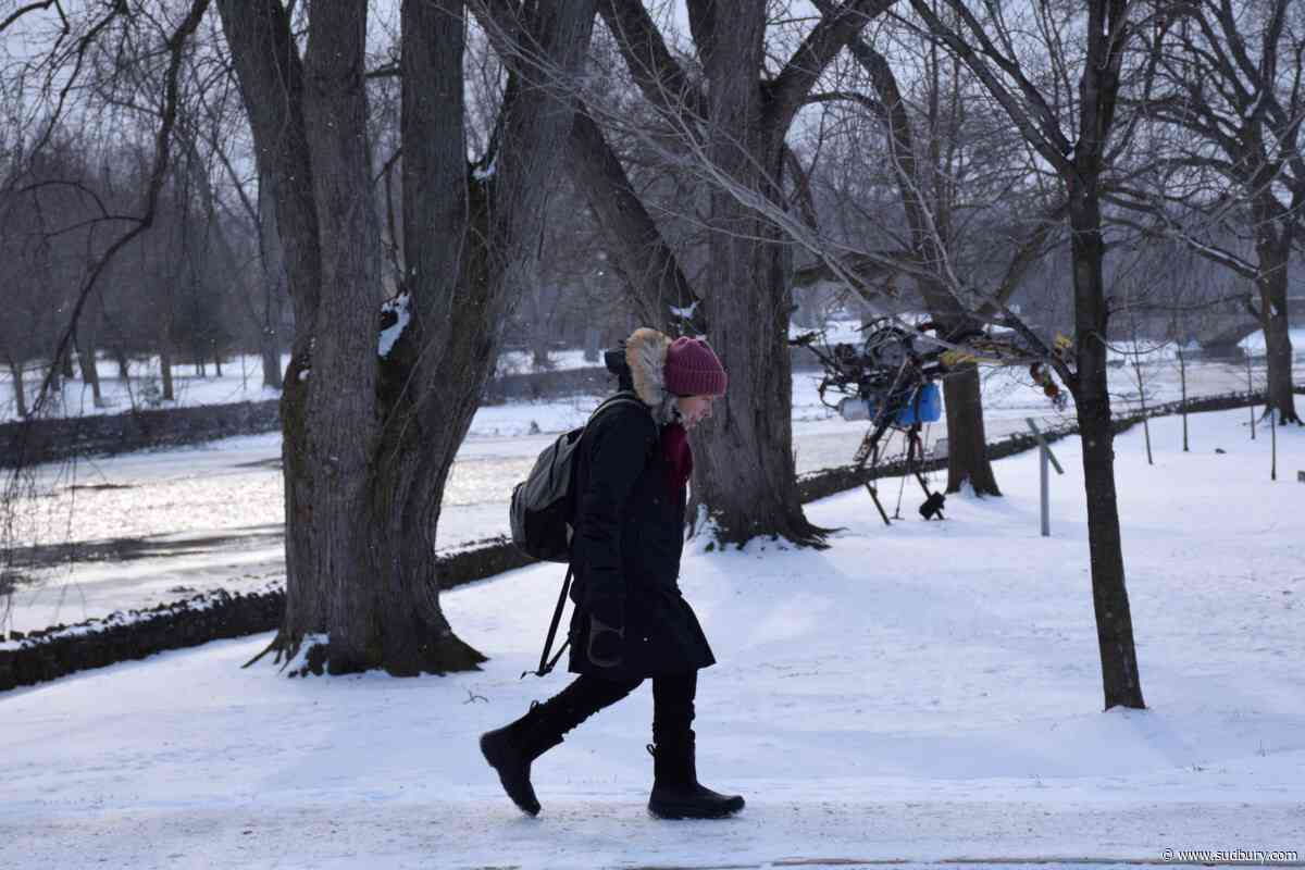 Bundle up, it's going to be frigid out there today