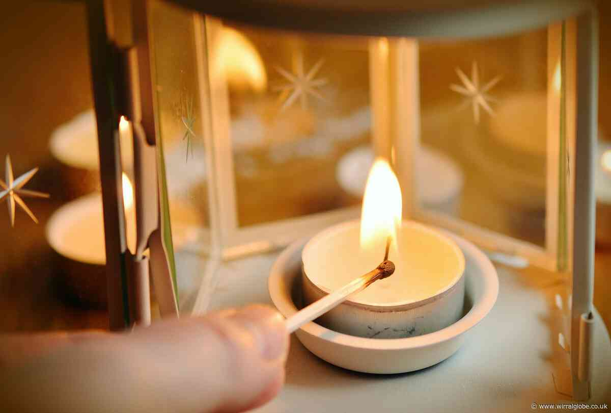 Tips on how to take extra care lighting candles this Christmas after rise in fires