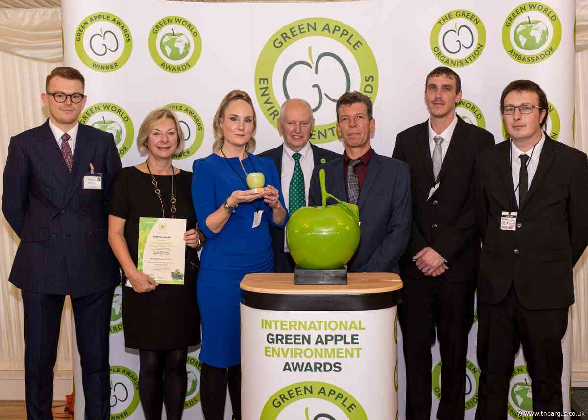 Brighton Marina wins Green Apple award for reducing waste