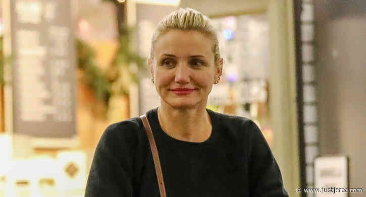 Cameron Diaz Does Some Grocery Shopping in Beverly Hills