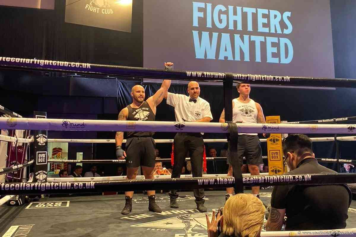 Rugby player praises Wimbledon Times' readers after charity boxing knockout