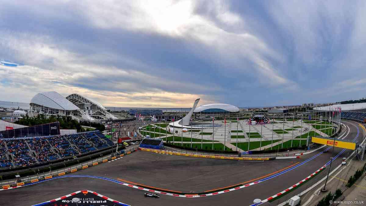 Russian GP: Race stays despite WADA sanctions