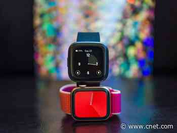 Apple Watch Series 5 vs. Fitbit Versa 2: Best smartwatch to give as a gift     - CNET