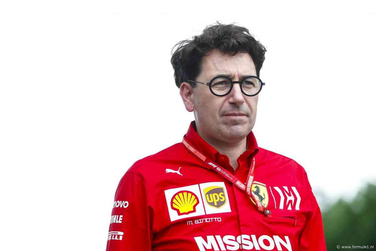 Binotto: 'Ferrari heeft geen grote veranderingen nodig'