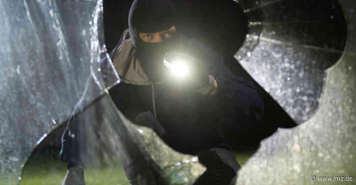 Mannheim:  Einbrecher auf frischer Tat ertappt