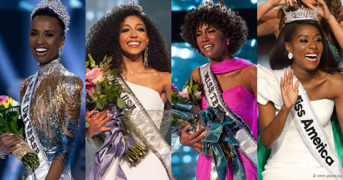 Black girl magic! Women of color wins major beauty pageants across the world