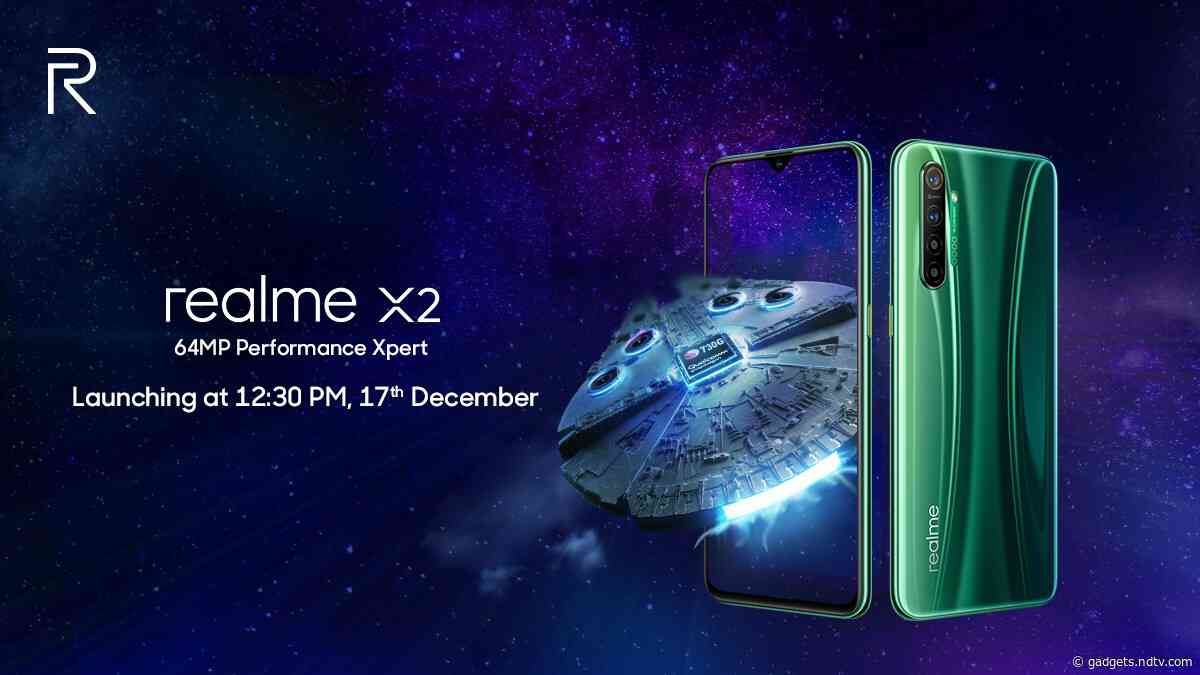 Realme X2 Will Be the Name of Realme XT 730G in India, Company Reveals, Booster Sale Detailed