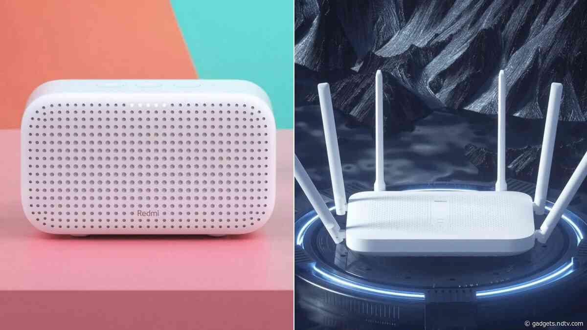 Xiaomi Launches Redmi XiaoAI Speaker Play, Redmi Router AC2100