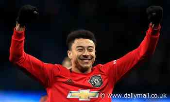 Manchester Unitedattacking midfielder Jesse Lingard admits he is enjoying welcome return to form