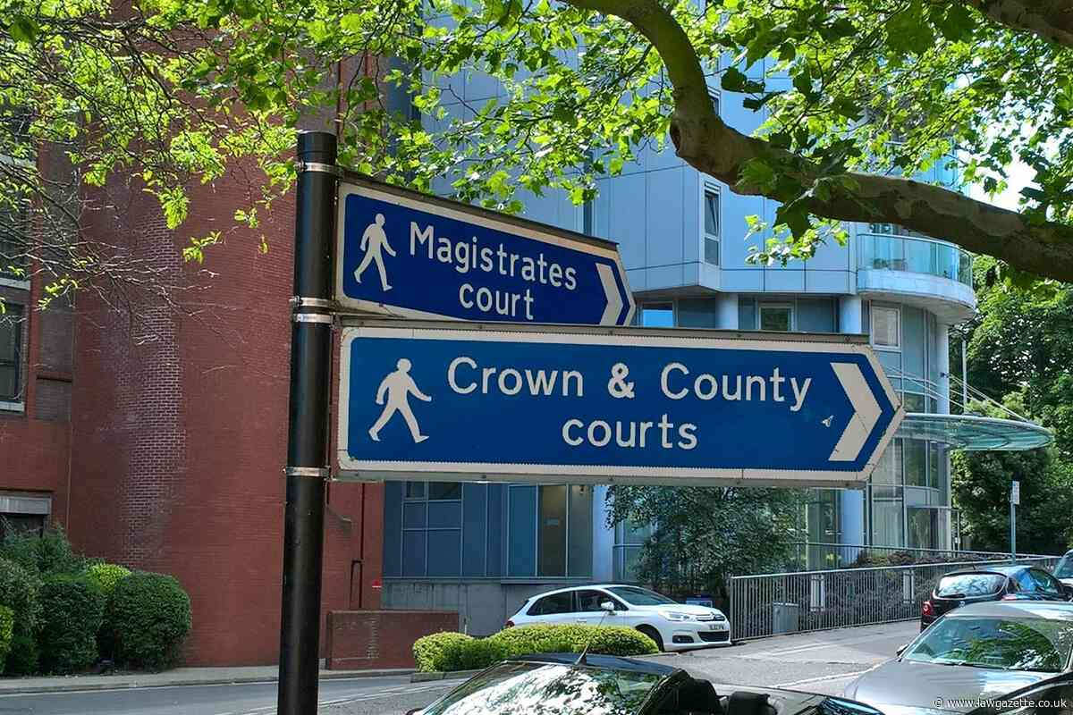 County court trial waiting times at 10-year high