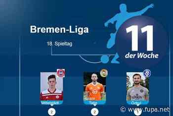 Bremen-Liga: Das ist die Top-Elf des 18. Spieltags
