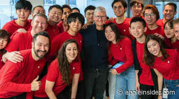 Tim Cook is touring Apple Stores and meeting users in Japan