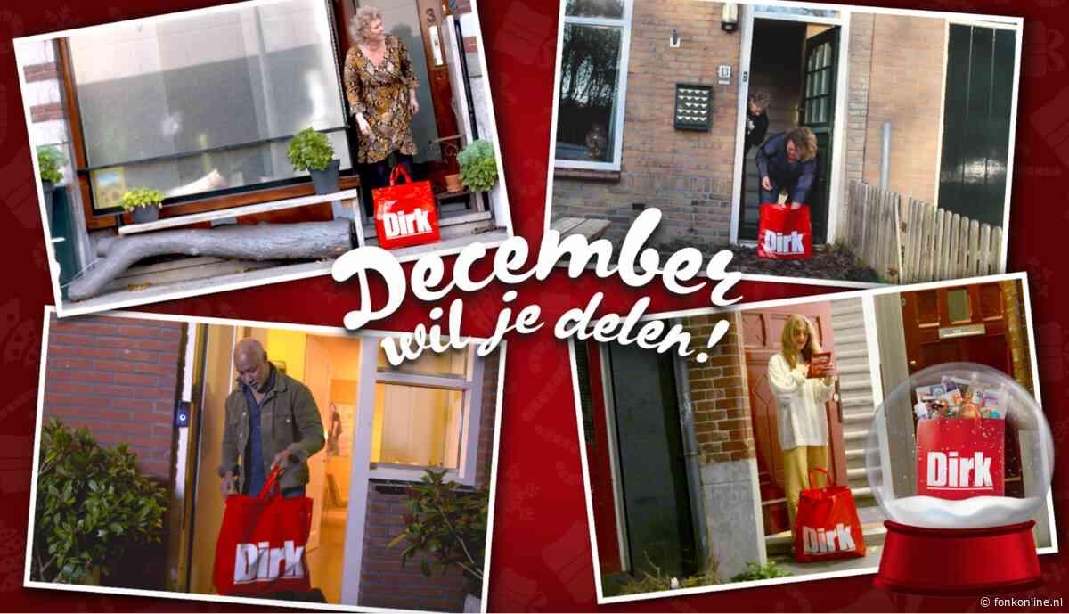 Dirk deelt decembergedachte met 1000 gevulde tassen