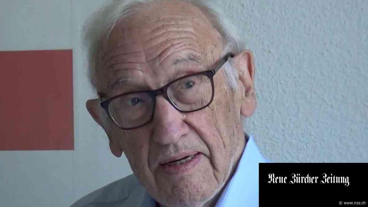 Der Architekt Franz Füeg ist 98-jährig gestorben