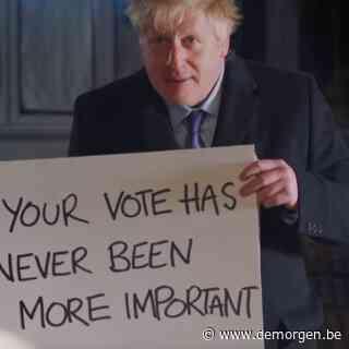 ▶ Boris Johnson maakt parodie op Love Actually: 'Brexit actually'