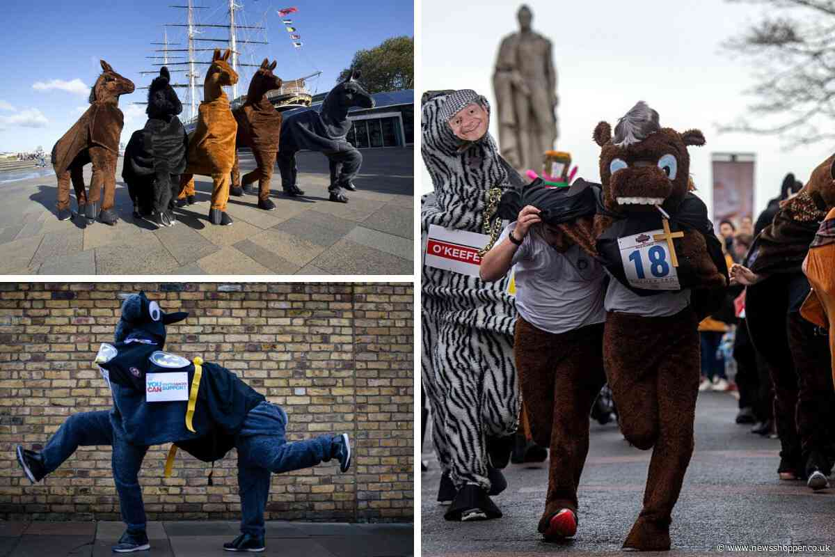 World-famous London Pantomime Horse Race comes to Greenwich this weekend