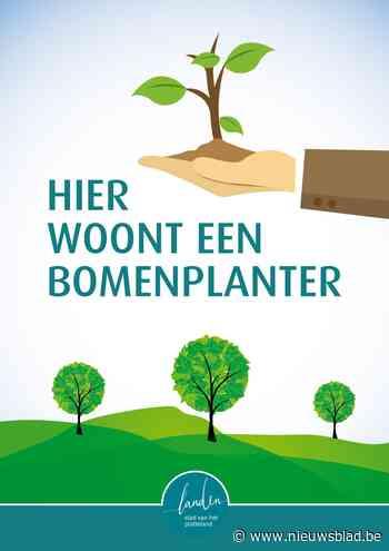 Bomen planten en een hart voor het klimaat