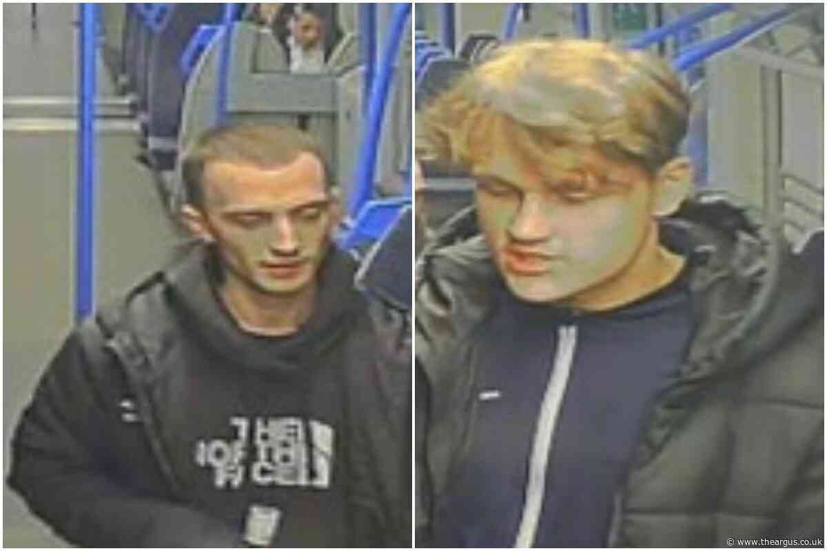 Teenager held up at knifepoint on train to Brighton