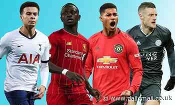 Premier League Power Rankings: Can Jamie Vardy or Marcus Rashford take the No 1 spot?