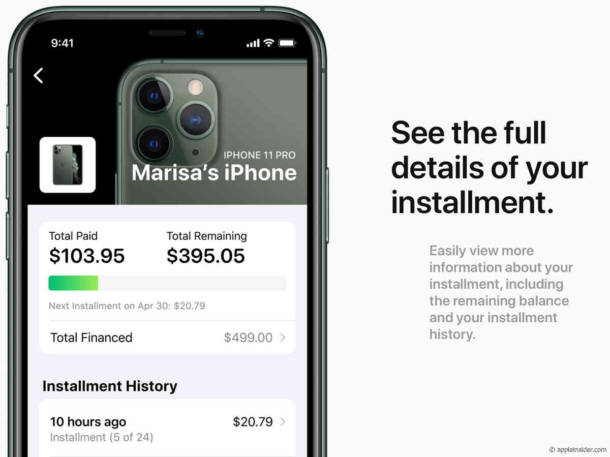 Apple Card Monthly Installments plan allows users to buy an iPhone straight from the Apple Card