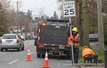 Seattle to lower speed limits amid rising number of traffic deaths