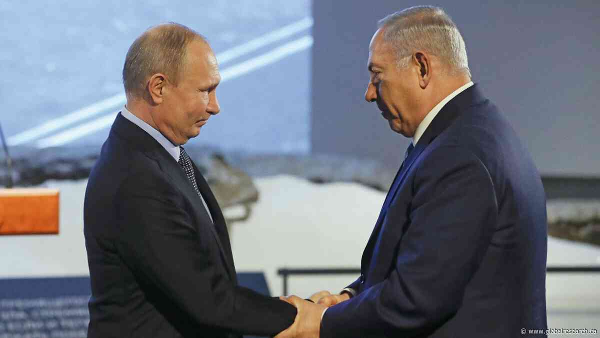 """Russia–Israel Rapprochement for """"Coordination"""" on Syria?"""