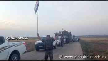 Video: Syria Army Increasing Its Presence Along Turkish Border
