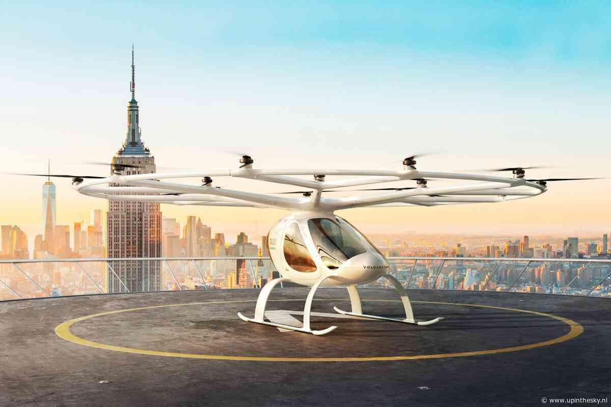 Duits bedrijf achter vliegende taxi's krijgt goedkeuring van EASA