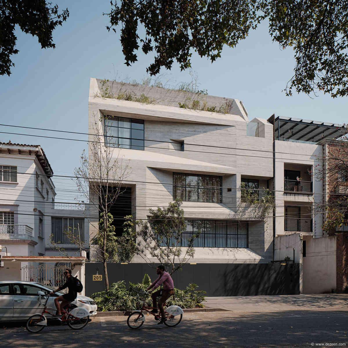 Studio Rick Joy designs concrete apartment complex in Mexico City's Polanco neighbourhood