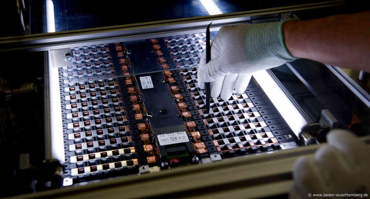 Wirtschaftsministerin zur EU-Entscheidung in Sachen Batteriezellfertigung