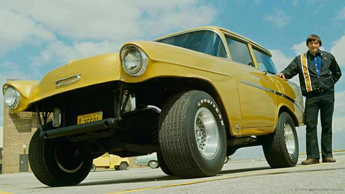 This Freaky Chopped Chevy Takes You Back to the Weird '70s