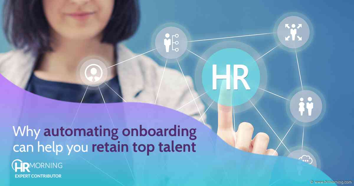 Why automating onboarding can help retain top talent