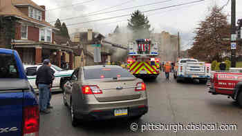 Crews Battle Heavy Smoke Pouring From Home In Carnegie